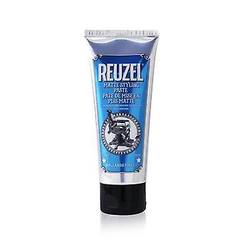 Reuzel Matte Styling Paste (Medium Hold, No Shine, Water Soluble) 100ml/3.38oz