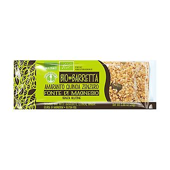 Bio amaranth quinoa ginger bar 25 g