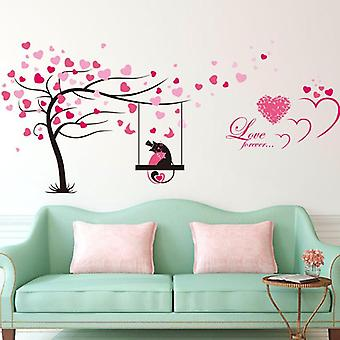 Tree And Butterflies Couple Sticker