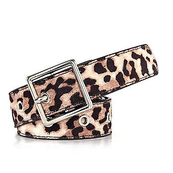 Leopard Belt, Women Trendy Dress Sweater Decorative Casual Wild Waist Seal,
