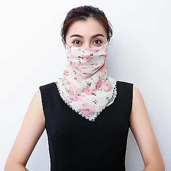 Lightweight Face Mask Scarf Sun Protection Mask For Outdoor Riding Scarf