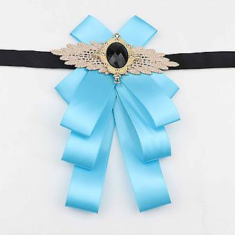 Women Fashion Pretty Ribbon Butterfly Bow Tie, Bowknot