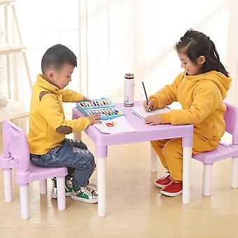 Children's Learning Tables And Chairs Set