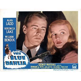 The Blue Dahlia Poster Alan Ladd Veronica Lake 1946 Movie Poster Masterprint