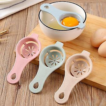 Egg White Yolk Separator Household Egg Divider Kitchen Cooking Egg Tool Filter Egg Separator Cooking Gadgets Kitchen Accessories