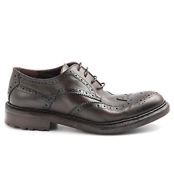 Barrow férfi cipő's barna antikolt bőr