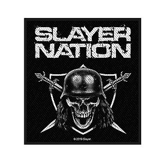 Slayer Patch Slayer Nation Band Logo new Official