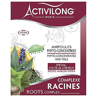 Activilong Roots Complex - Phyto-Concentrated Hair Flacons 4 x 10 ml - 4 x 0,4 fl.oz.