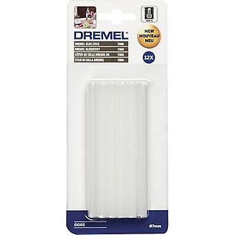 Dremel GG02 Hot melt glue sticks 7 mm 100 mm Transparent 65 g 12 pc(s)