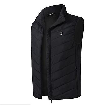 Winter Heating Vest, Smart Usb Charging Jacket, Warm Heating Cotton Men