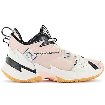 Air Jordan Why Not Zero.3 - Sapatos de basquete masculino Pink-Bege CD3003-600 Tênis Sapatos Esportivos