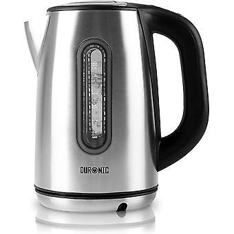 Duronic Electric Kettle EK42 | Stainless Steel 1.7L Fast Boil Kettle | Cordless | Multi-Use…