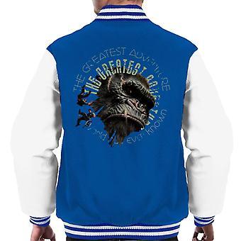 King Kong Den största äventyr män's Varsity Jacket