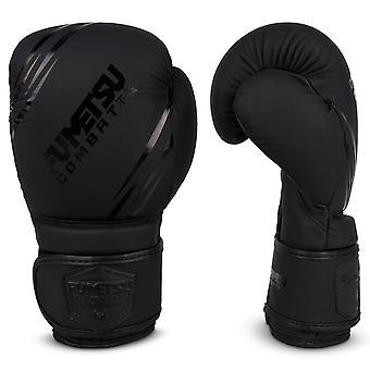 Fumetsu Shield Kids Bokshandschoenen Zwart/ Zwart