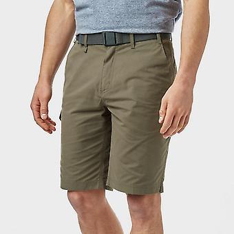Brasher Men's Walking Hiking Casual Shorts Brown