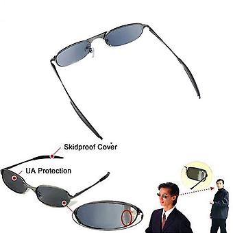 High-tech Anti-tracking, Rear View Sun Glass, Behind Monitor Mirror Glasses