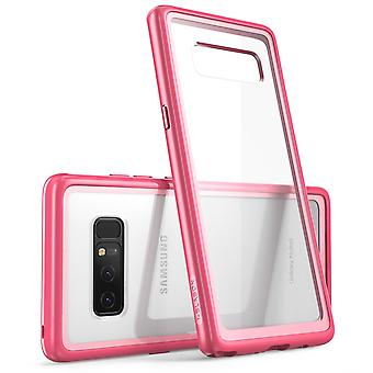 I-Blason Clear Halo-serien Samsung Galaxy Note 8 Hybrid Bumper Case-Pink