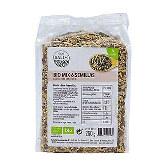 6 Seeds Mix Bio 250 g