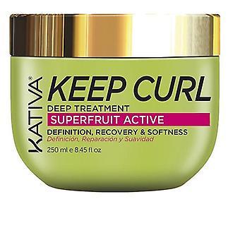 Hair Mask Kativa Keep Curl (250 ml)