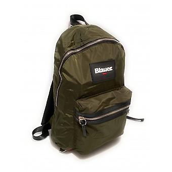 Bag Blauer Backpack Man Nevada Backpack Nylon Green Army Ub21bu02