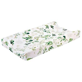 Baby Changing Pad Cover Floral Print Fitted Crib Sheet Bed Nursery Unisex