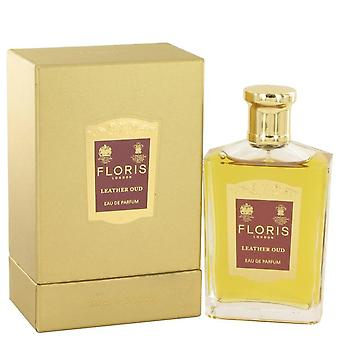 Floris nahka Oud Eau De Parfum Spray mennessä Floris 3,4 oz Eau De Parfum Spray