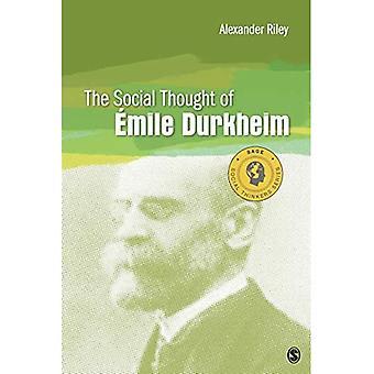 Den sociale tanke om Emile Durkheim (Social Thinkers Series)