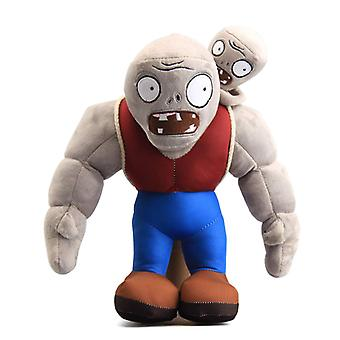 30cm Cartoon Plants Vs Zombies lush toy , Zombie Plush - muscle zombie Plush doll