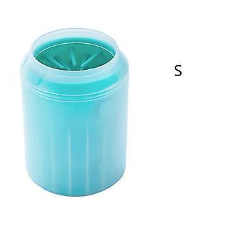 Koiran tassunpuhdistusaine, Kuppi pehmeä silikoni combs, Kannettava, Ulkona lemmikkipyyhe, Jalka