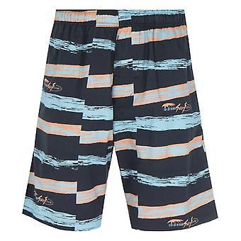 Edwin Chiba Okinawa Beach Club Print Shorts