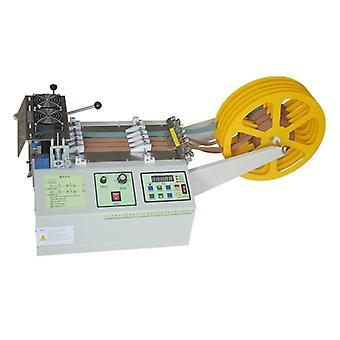 160t computador quente e frio máquina de corte de correia de pano