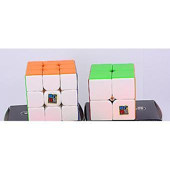 مويو Meilong M المغناطيسي 2x2x2 ماجيك مكعب 4x4x4 سرعة مكعب المغناطيس لغز