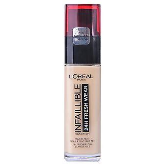 L'Oreal Paris Make Up Unfehlbarer Frische-Kleider-Boden 130 beige peau