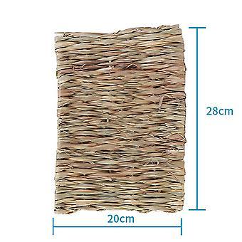 Luonnollinen ruoho hamsteri vuode matto