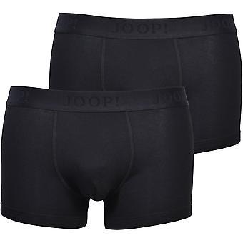Joop, joop! 2-Pack Cotton Modal Boxer Trunks, Preto