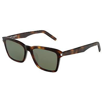 Saint Laurent SL 283 F SLIM HAVANA Slim menns solbriller