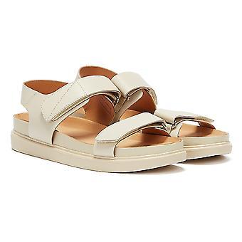 Vagabond Erin Velcro Womens Off White Sandals