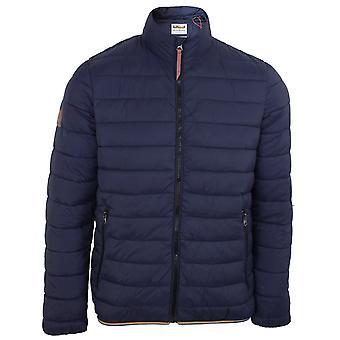 Superdry men's atlantic navy mountain padded jacket