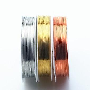 Colorfast Copper Wire For Bracelet Necklace Jewelry Accessories