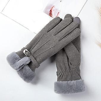 Naisten talvi lämpimät käsineet