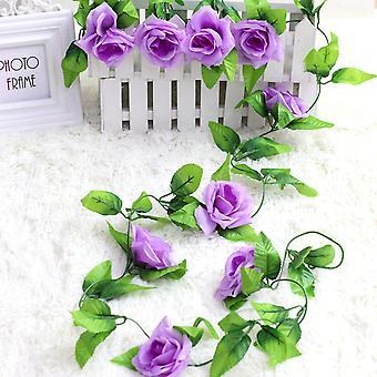 5pcs flor artificial flor artificial ratán flor seca flor falsa