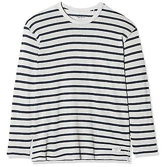 Pepe Jeans Bill T-Shirt, Ivory (Chalk 837), One Size (Herstellergro and: X-Small) Men