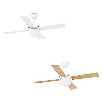 "Ceiling fan Mini Icaria White 107 cm / 42"""