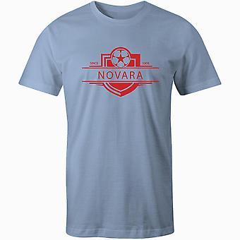 Novara 1908 established badge football t-shirt