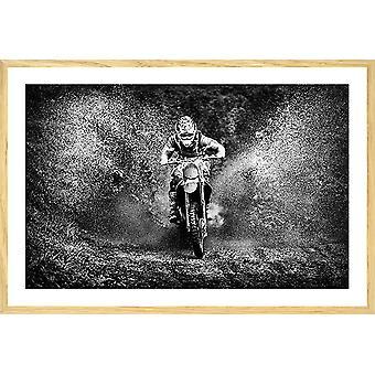 Moto cross poster