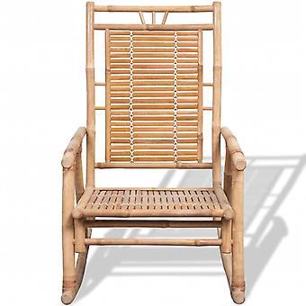 vidaXL Keinutuoli Bambu