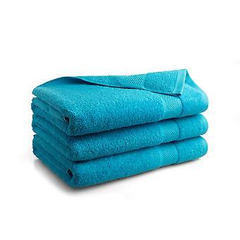 Seashell Hotel Collectie Handdoek - Turquoise - 3 stuks - 70x140cm
