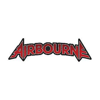 Airbourne - Standard patch til udklip med logo