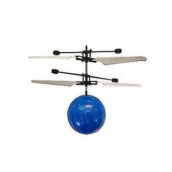 Bal blauwe kinderen outdoor hand sensor controle led knipperende bal helikopter vliegtuigen az1313