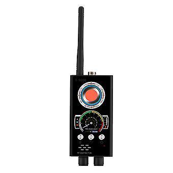 Rilevatori radar super metallici LASER IR Anti Spy Detector Scanner telecamera nascosta Scanner WiFi Gps Signal G-S-M Phone Radio Tracker Private Finder Alerts (nero)